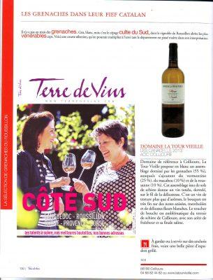 Magazine Terre de vins Juillet 2015