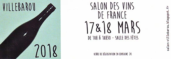 Villebarou Wine fair 2018
