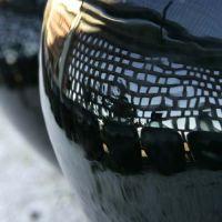 Reflet sur une bonbonne