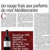 "Magazine MARIANNE ""spécial vins 2009"""