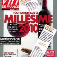 Revue des Vins de France, millésime 2010