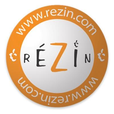 """Blog sur le vin """"RéZin"""", le logo"""