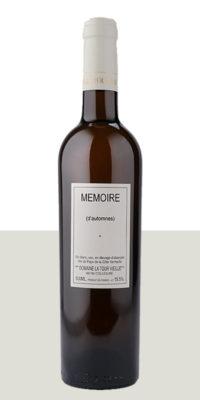 """Vin rare """"Mémoire d'Automnes"""""""